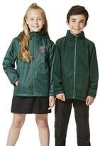 F&F Unisex Embroidered Reversible School Fleece Jacket 13-14 yrs