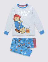 Marks and Spencer Long Sleeve Paddington BearTM Pyjamas (1-8 Years)