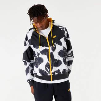 Nike Men's Sportswear Windrunner Floral Jacket