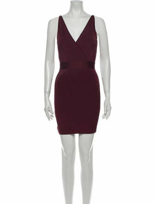 Herve Leger 2020 Mini Dress