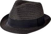 San Diego Hat Company Solid Ultrabraid Fedora UBF1018 (Men's)