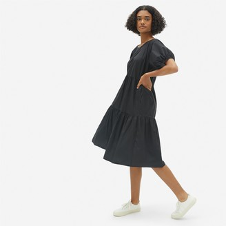 Everlane The Tiered Cotton Dress
