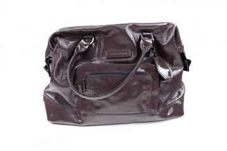 Longchamp Purple Leather Handbags