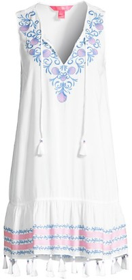 Lilly Pulitzer Totti Embroidered Cover-Up