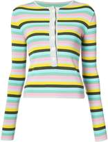 Natasha Zinko Horizontal Stripe Sweater