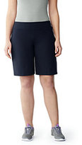 Classic Women's Plus Size Active Relaxed Short Navy