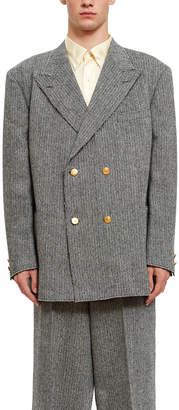 Opening Ceremony J.Press X Double Breasted Tweed Blaser