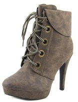 2 Lips Too Too Luca Women Round Toe Synthetic Ankle Boot.