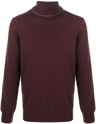 Eleventy Roll-Neck Cashmere Jumper