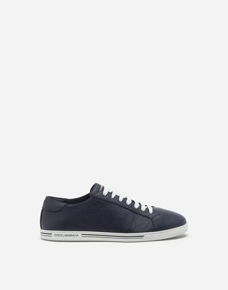 Dolce & Gabbana Saint Tropez Sneakers In Deerskin