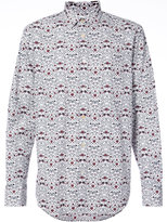 Paul Smith embroidered fitted shirt