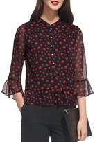 Whistles Eclipse Print Blouse