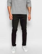 Ben Sherman Slim Jeans In Black Stretch
