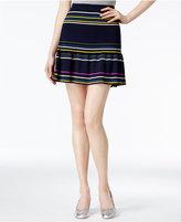 Rachel Roy Striped Flared Skirt, Created for Macy's