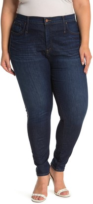Madewell Metallic Stripe High Rise Jeans (Regular & Plus Size)