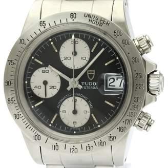 Tudor Black Steel Watches