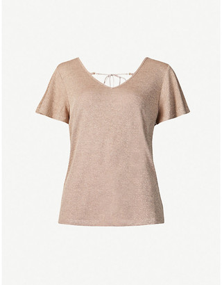 Paige Haider stretch-knit T-shirt