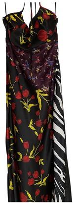 ATTICO Black Viscose Dresses