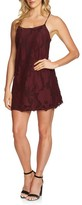 1 STATE Women's 1.state Floral Lace Racerback Shift Dress