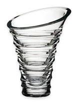 Nambe Crystal Tornado 9-Inch Vase