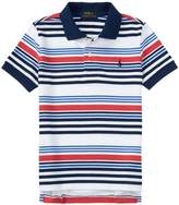 Polo Ralph Lauren Boys Boy's Pique Polo Shirt White L