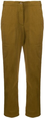 Aspesi Textured Cropped Trousers