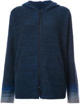 Lainey Keogh Womens zipped knit hoodie