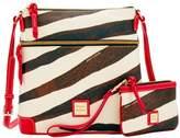 Dooney & Bourke Serengeti Crossbody & Medium Wristlet Shoulder Bag