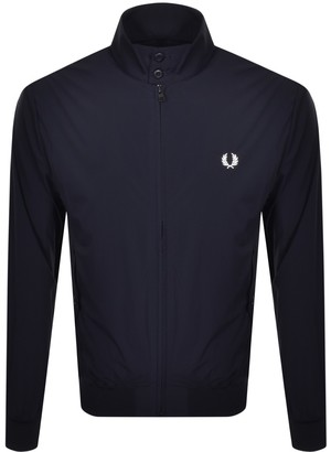 Fred Perry Lightweight Harrington Jacket Navy