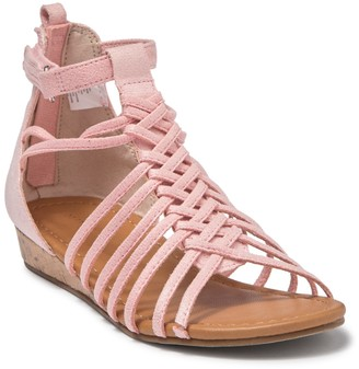 Joe Fresh Mishu Braided Micro Wedge Sandal (Toddler, Little Kid & Big Kid)