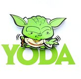 Star Wars Mini 3D LED Wall Light Yoda