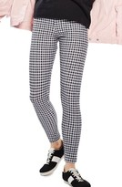 Topshop Women's Check Print Leggings