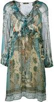 Roberto Cavalli Potpourri printed dress - women - Silk/Polyester - 42