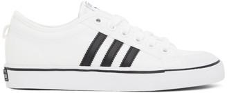 adidas White Nizza Sneakers