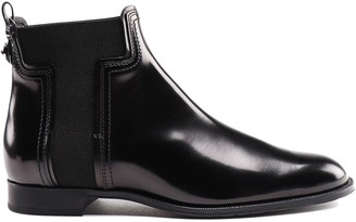 Tod's T Detail Ankle Boots