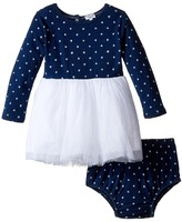 Splendid Littles Indigo Tutu Dress Star Print Girl's Dress