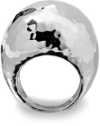 Ippolita sterling silver Classico hammered ring
