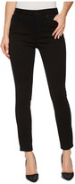 DL1961 Chrissy Trimtone Skinny in Ink Black Women's Jeans