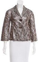 Michael Kors Patterned Notch-Lapel Blazer
