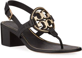 Tory Burch Miller Metal Medallion Sandals