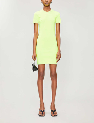Helmut Lang Bodycon knitted mini dress