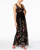 INC International Concepts Petite Floral-Embroidered Maxi Dress, Only at Macy's