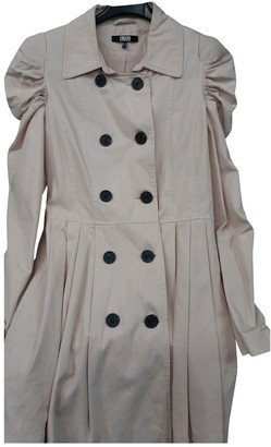 ASOS Pink Cotton Trench coats