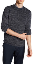 Antony Morato Crew Neck Marbled Knit Sweater