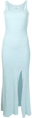 ANNA QUAN Rib-Knit Sleeveless Dress