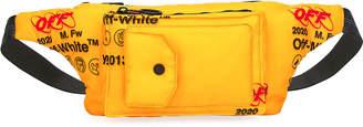 Off-White Men's Industrial Pocket-Front Belt Bag/Fanny Pack