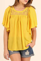 Umgee USA Honey Boho Top