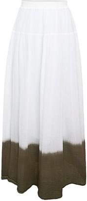 Bailey 44 Monsoon Dip-Dyed Cotton Skirt