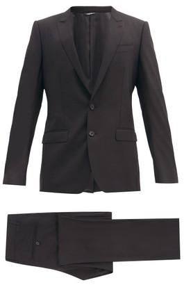 Dolce & Gabbana Martini Single-breasted Virgin-wool Suit - Black