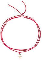 Bianca Pratt Star Silk Wrap Bracelet